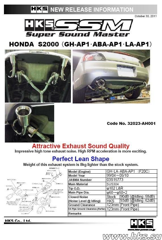 32023-AH001 SUPER SOUND MASTER S2000